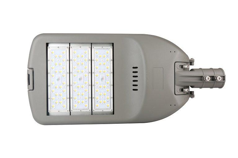 P18 series CE CB ENEC IP67 IK09 150W 160LM/W adjustable photocell dia-cast aluminum photocell dimmable led street light,led urban lights,led road luminaires,led street lamp,eight years warranty,tool-free maintenance,class II.