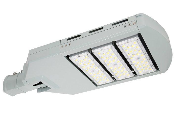 RL03 series CE CB ENEC IP67 IK09 150W 160LM/W adjustable photocell dia-cast aluminum photocell dimmable led street light,led urban lights,led road luminaires,led street lamp,eight years warranty,tool-free maintenance,class II.