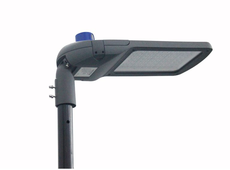 K290 series CE CB ENEC IP67 IK09 180W 140LM/W adjustable photocell dia-cast aluminum photocell dimmable led street light,led urban lights,led road luminaires,led street lamp,eight years warranty,tool-free maintenance,class II.