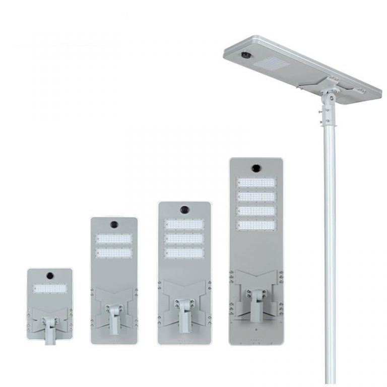 AI series smart MPPT CE Waterproof 100W adjustable Motion Sensor Remote Control Integrated lithium battery Solar led Street Light,all in one Solar Street Light,LiFePO4 solar lamp,Solar Garden Light,led urban lights,led road luminaires,led street lamp,five years warranty