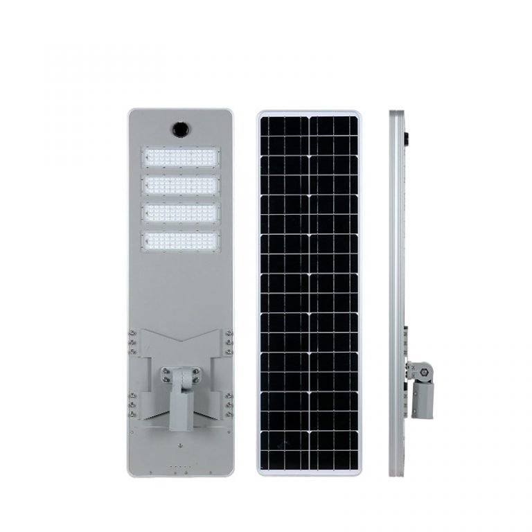 AI series smart MPPT CE Waterproof 200W adjustable Motion Sensor Remote Control Integrated lithium battery Solar led Street Light,all in one Solar Street Light,LiFePO4 solar lamp,Solar Garden Light,led urban lights,led road luminaires,led street lamp,five years warranty