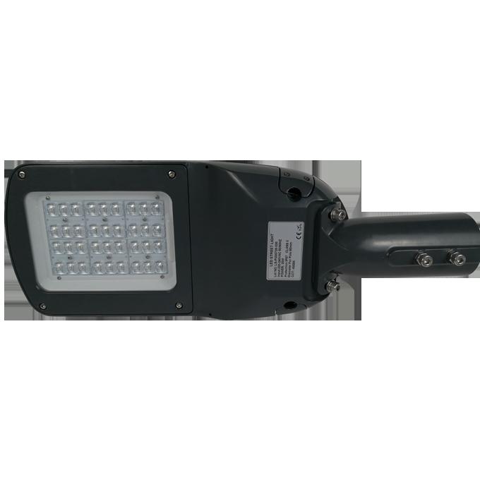 K290 series CE CB ENEC IP67 IK09 60W 140LM/W adjustable photocell dia-cast aluminum photocell dimmable led street light,led urban lights,led road luminaires,led street lamp,eight years warranty,tool-free maintenance,class II.