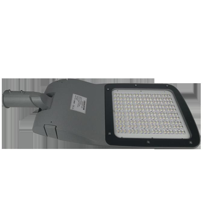 K180 series CE CB ENEC IP67 IK09 60W 140LM/W adjustable photocell dia-cast aluminum photocell dimmable led street light,led urban lights,led road luminaires,led street lamp,eight years warranty,tool-free maintenance,class II.