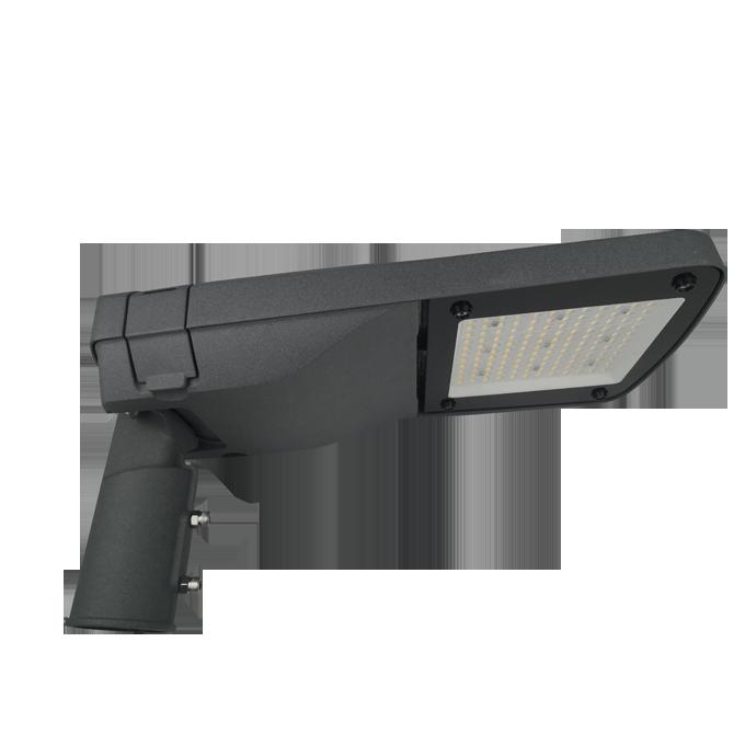 Alef series CE CB ENEC IP67 IK09 60W 140LM/W adjustable photocell dia-cast aluminum photocell dimmable led street light,led urban lights,led road luminaires,led street lamp,eight years warranty,tool-free maintenance,class II.