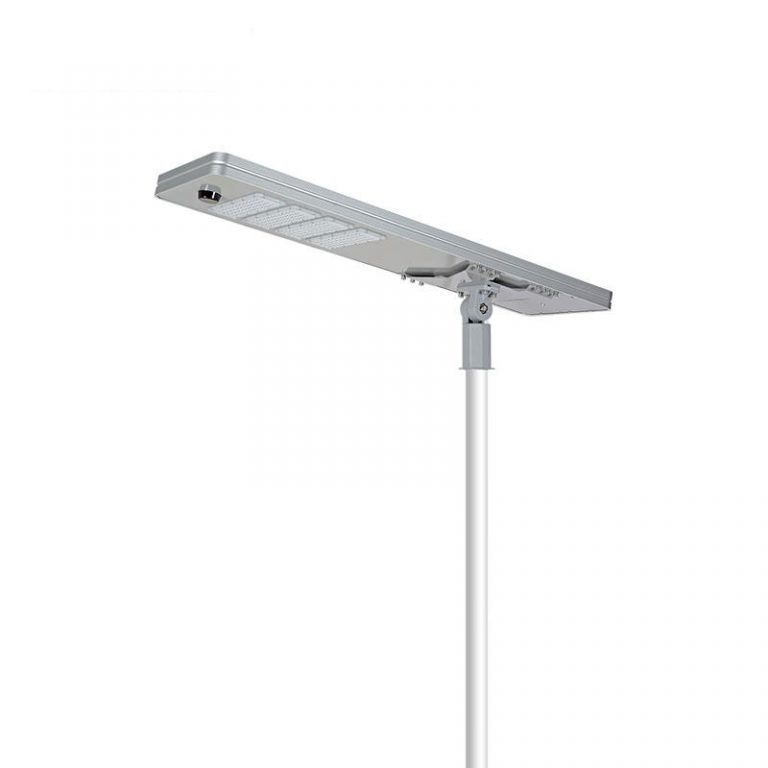 AI series smart MPPT CE Waterproof 150W adjustable Motion Sensor Remote Control Integrated lithium battery Solar led Street Light,all in one Solar Street Light,LiFePO4 solar lamp,Solar Garden Light,led urban lights,led road luminaires,led street lamp,five years warranty