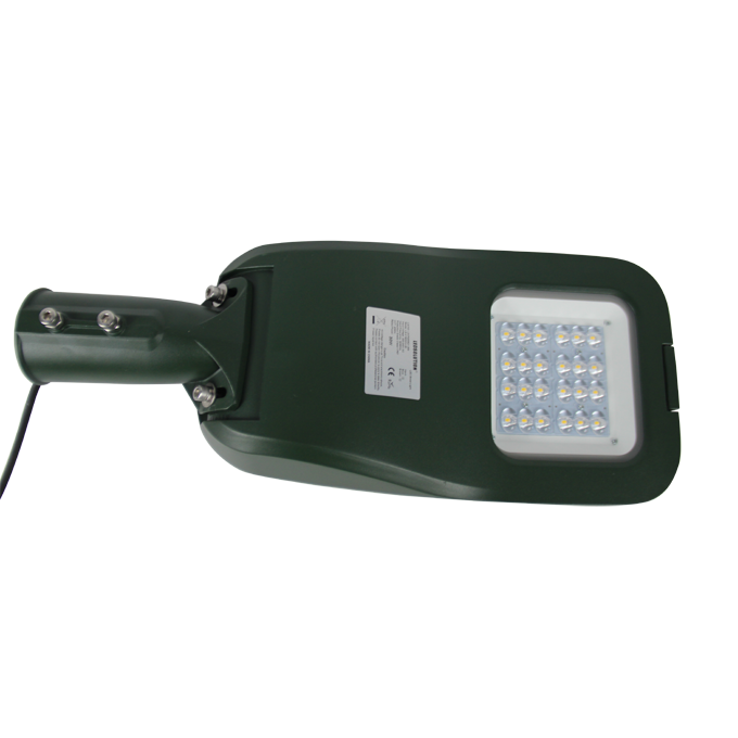K190 series CE CB ENEC IP67 IK09 30W 140LM/W adjustable photocell dia-cast aluminum photocell dimmable led street light,led urban lights,led road luminaires,led street lamp,eight years warranty,tool-free maintenance,class II.