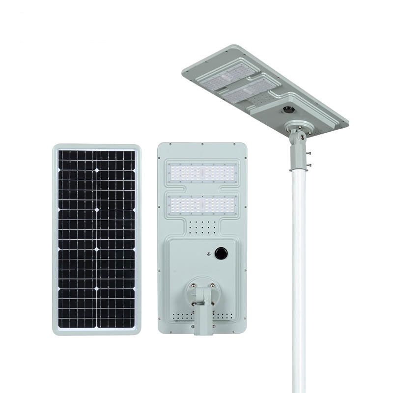 DC series smart MPPT CE Waterproof 100W adjustable Motion Sensor Remote Control Integrated lithium battery Solar led Street Light,all in one Solar Street Light,LiFePO4 solar lamp,Solar Garden Light,led urban lights,led road luminaires,led street lamp,five years warranty