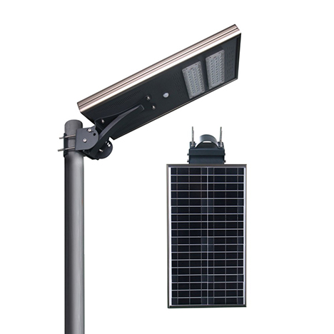 IS series smart MPPT CE Waterproof 40W adjustable Motion Sensor Remote Control Integrated lithium battery Solar led Street Light,all in one Solar Street Light,LiFePO4 solar lamp,Solar Garden Light,led urban lights,led road luminaires,led street lamp,five years warranty