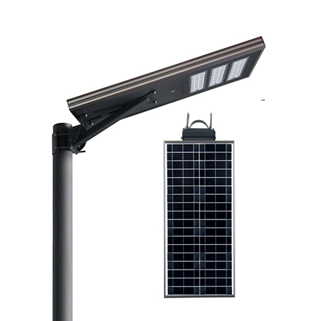 IS series smart MPPT CE Waterproof 60W adjustable Motion Sensor Remote Control Integrated lithium battery Solar led Street Light,all in one Solar Street Light,LiFePO4 solar lamp,Solar Garden Light,led urban lights,led road luminaires,led street lamp,five years warranty