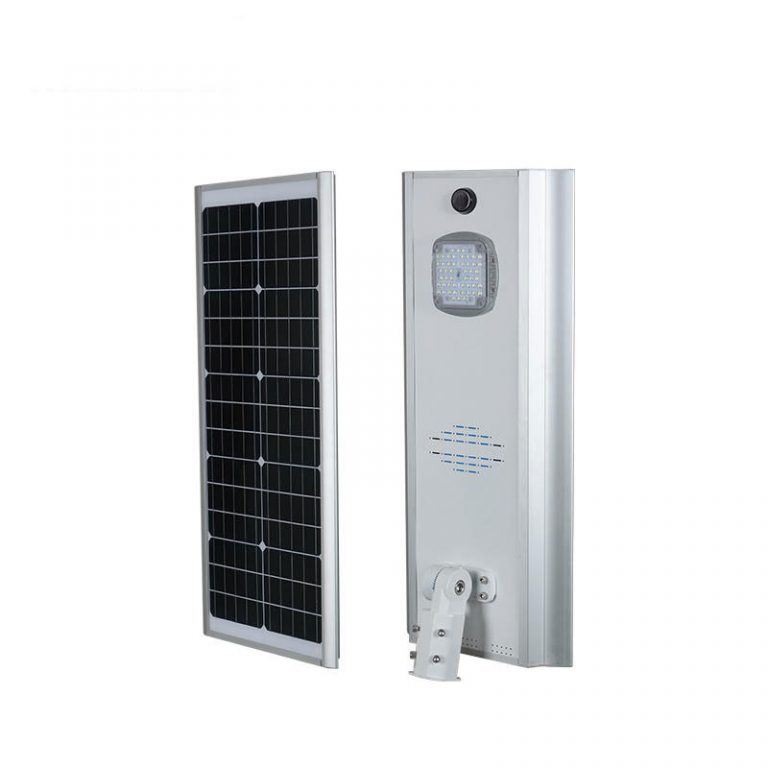 KN series smart MPPT CE Waterproof 50W adjustable Motion Sensor Remote Control Integrated lithium battery Solar led Street Light,all in one Solar Street Light,LiFePO4 solar lamp,Solar Garden Light,led urban lights,led road luminaires,led street lamp,five years warranty
