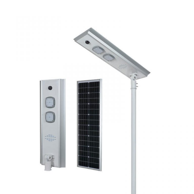 KN series smart MPPT CE Waterproof 100W adjustable Motion Sensor Remote Control Integrated lithium battery Solar led Street Light,all in one Solar Street Light,LiFePO4 solar lamp,Solar Garden Light,led urban lights,led road luminaires,led street lamp,five years warranty