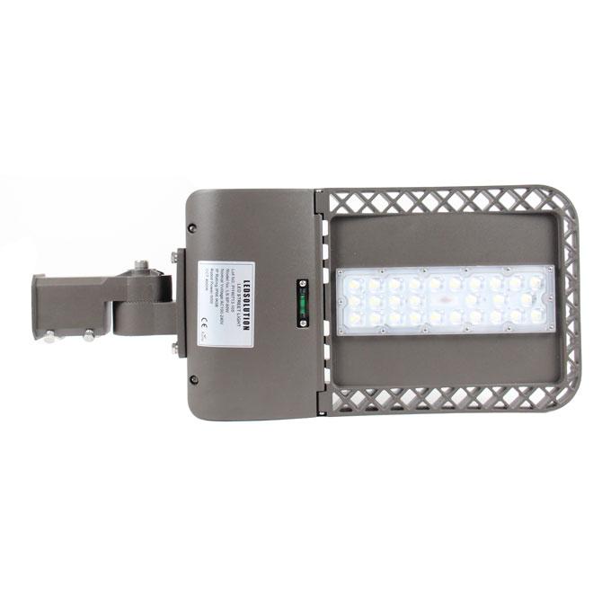 SP series CE CB ENEC IP67 IK09 80W 140LM/W adjustable dia-cast aluminum photocell dimmable led street light,led urban lights,led shoebox lamp,led parking light