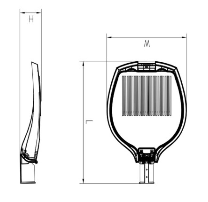 Tav series CE CB ENEC IP66 IK08 50W 130LM/W adjustable dia-cast aluminum photocell dimmable solar led garden light,led decorative luminaires,led pendant lamp,led parking lights,eight years warranty,tool-free maintenance,class II.