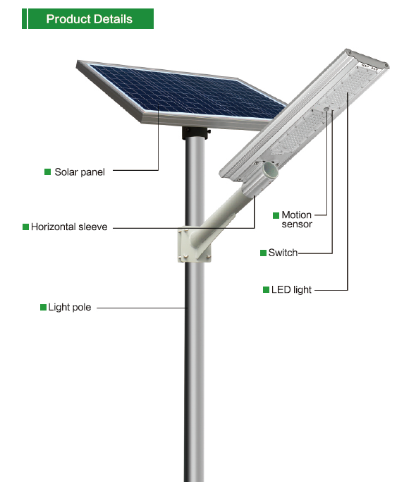 SS series smart MPPT CE Waterproof 40W adjustable Motion Sensor Remote Control Separated lithium battery Solar led Street Light,all in two Solar Street Light,LiFePO4 solar lamp,Solar Garden Light,led urban lights,led road luminaires,led street lamp,five years warranty