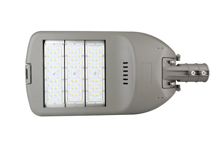 P18 series CE CB ENEC IP67 IK09 150W 160LM/W adjustable photocell dia-cast aluminum photocell dimmable led street light,led urban lights,led road luminaires,led street lamp,eight years warranty,tool-free maintenance,class II.