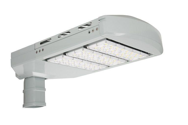 RL03 series CE CB ENEC IP67 IK09 180W 160LM/W adjustable photocell dia-cast aluminum photocell dimmable led street light,led urban lights,led road luminaires,led street lamp,eight years warranty,tool-free maintenance,class II.