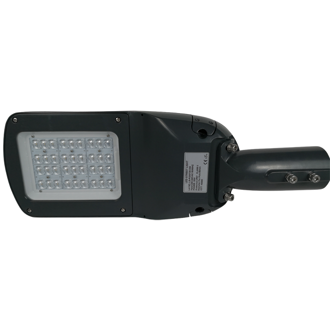 K290 series CE CB ENEC IP67 IK09 60W 140LM/W adjustable photocell dia-cast aluminum photocell dimmable led street light,led urban lights,led road luminaires,led street lamp,eight years warranty,tool-free maintenance,class II.