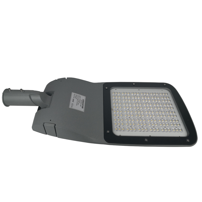 K180 series CE CB ENEC IP67 IK09 60W 140LM/W adjustable photocell dia-cast aluminum photocell dimmable led street light,led urban lights,led road luminaires,led street lamp,eight years warranty,tool-free maintenance,class II.