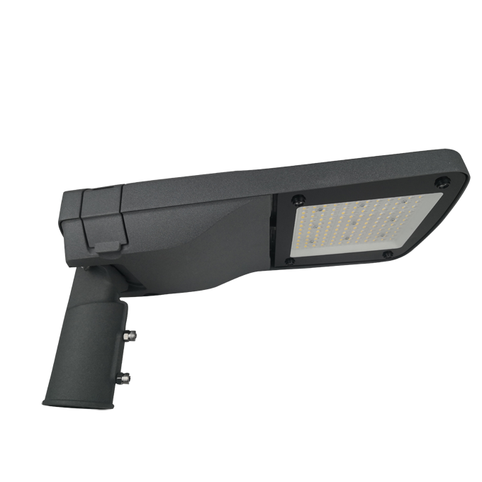 Alef series CE CB ENEC IP67 IK09 60W 140LM/W adjustable photocell dia-cast aluminum photocell dimmable led street light,led urban lights,led road luminaires,led street lamp,eight years warranty,tool-free maintenance,class II.