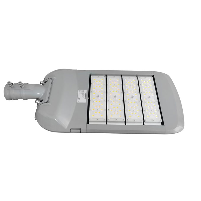 19B series CE CB ENEC IP67 IK09 250W 160LM/W adjustable photocell dia-cast aluminum photocell dimmable led street light,led urban lights,led road luminaires,led street lamp,eight years warranty,tool-free maintenance,class II.