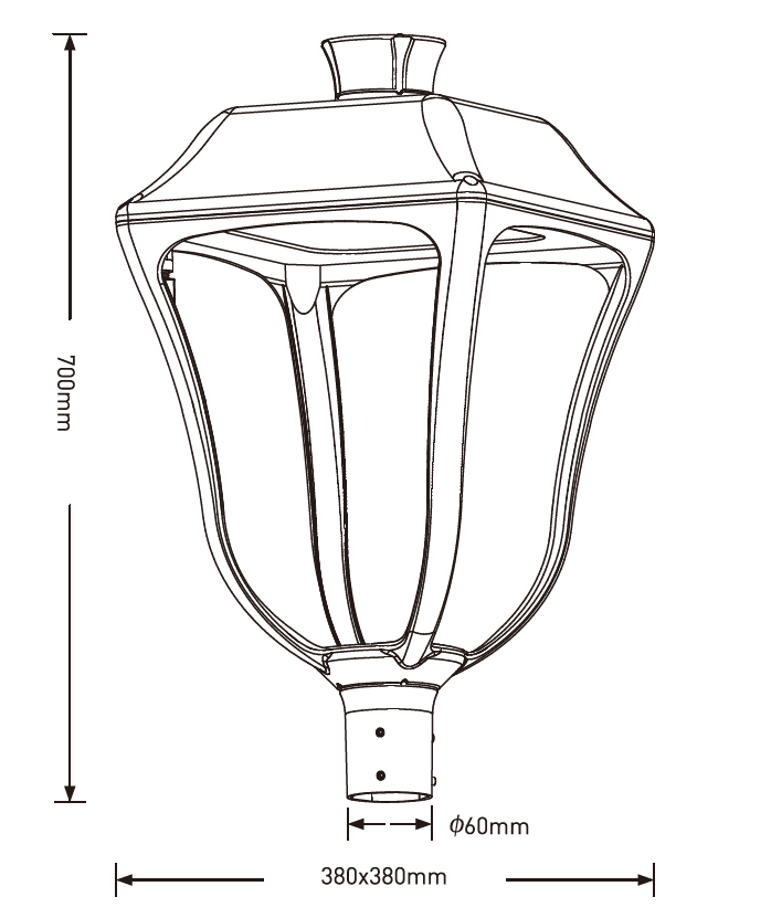 G08 series CE CB ENEC IP66 IK08 90W 130LM/W adjustable dia-cast aluminum photocell dimmable solar led garden light,led decorative luminaires,led pendant lamp,led parking lights,eight years warranty,tool-free maintenance,class II.